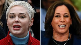 Kamala Harris slammed by Rose McGowan for accepting past donations from Harvey Weinstein