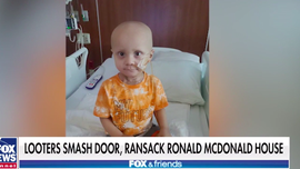 Parents of 2-year-old cancer patient in Chicago speak out after looters smash door, ransack Ronald McDonald House