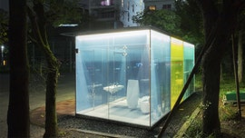 Japan installs see-through public toilets to help with cleanliness