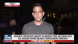 Trey Yingst reports from Lebanon after prime minster, Cabinet resign following Beirut blast