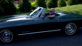Joe Biden takes the wheel of his 1967 Chevrolet Corvette Stingray in new campaign ad