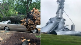 Derecho in Midwest traveled 770 miles in 14 hours, flipped trucks and smashed a grain elevator