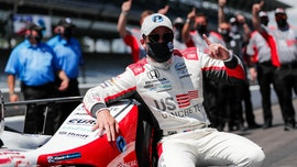 Marco Andretti wins pole position for Indy 500