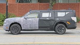 Mystery vehicle may be secret Ford Maverick compact pickup