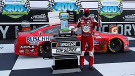 Kevin Harvick sweeps NASCAR's Michigan doubleheader