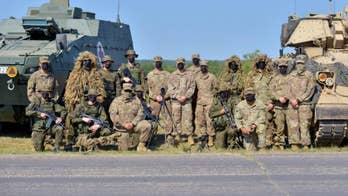 A look at COVID-19 precautions inside U.S. Army 1st Cavalry Division