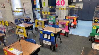Teachers turn COVID-19 desk shields into Jeeps: 'Playful, not imprisoned'