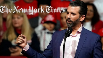 Trump Jr. mocks NY Times op-ed calling for the end of debates: 'OMG, they're really going for it'