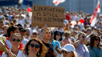 Ukraine backs opposition forces against Belarusian president