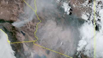 Apple Fire in California sending 'large area of smoke' to Phoenix, hundreds of miles away