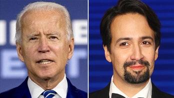 Biden tells Lin-Manuel Miranda Latinos 'keeping us going' during pandemic