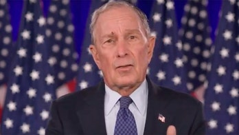 Fly steals Bloomberg's thunder by landing on his face during DNC speech