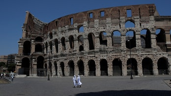 Irish tourist caught defacing Colosseum in Rome