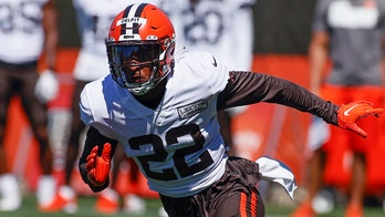 Browns' Grant Delpit carted off practice field with Achilles injury, possibly ending season