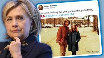 Hillary Clinton mocked for restricting replies to tweet celebrating Bill's birthday