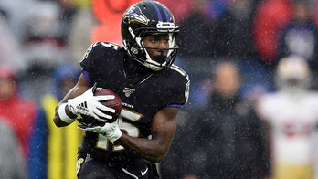 Ravens WR Marquise Brown sporting larger frame, more speed