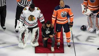 Dumba kneels, NHL puts focus on Black Lives Matter movement