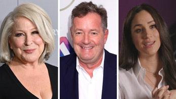Bette Midler defends Meghan Markle after Piers Morgan criticism