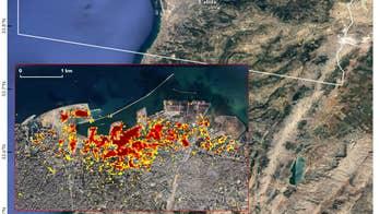 Beirut blast damage mapped by NASA using satellite data
