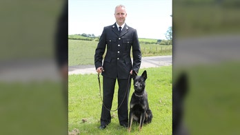 Police dog finds missing mom and baby on first job