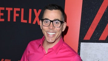 Steve-O taped himself to a billboard in Los Angeles advertising his new comedy special