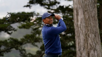 Tiger Woods near the top of the PGA Championship pack after first round