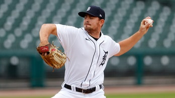Tigers' Tyler Alexander ties American League record with nine straight strikeouts