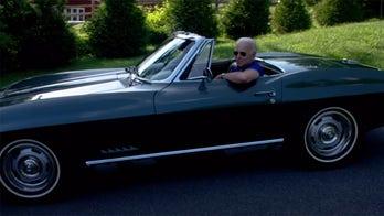 Joe Biden takes the wheel of his 1967 Chevrolet Corvette Stingray in new campaign ad