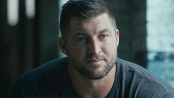Tim Tebow passionately explains why he's on front lines of human trafficking fight