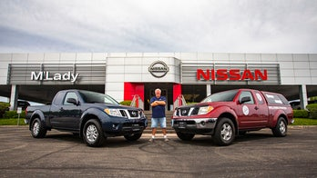 Nissan Frontier pickup driven over 1 million miles traded for new truck