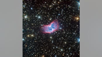 Astronomers spot glowing 'butterfly' in deep space