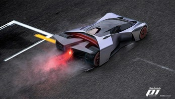 The Ford P1 supercar was designed by gamers for the virtual world