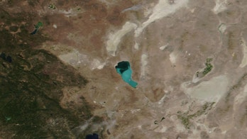 Nevada lake turns 'unusual shade' of turquoise after toxic algae bloom