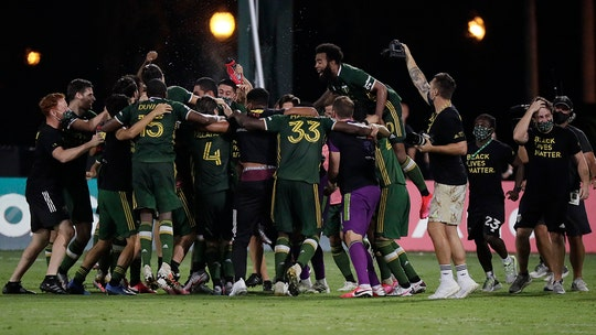 Portland beats Orlando 2-1 to claim MLS is Back championship