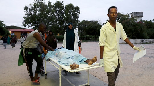 Somalia hotel attacked by car bomb, gunmen; at least 5 dead in the chaos