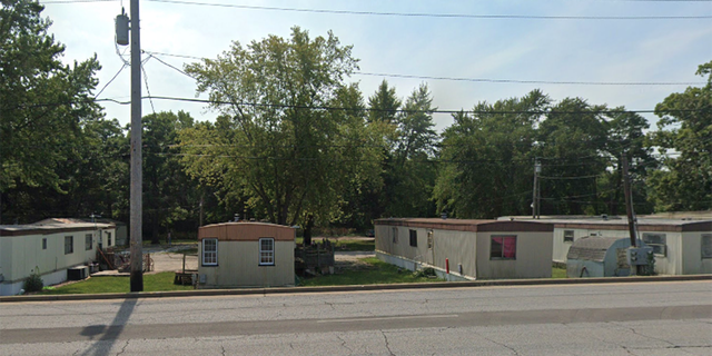 Ravinia Pines Mobile Home Community in Indiana.