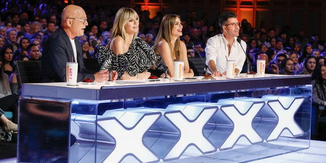 'America's Got Talent' judges Howie Mandel, Heidi Klum and Sofia Vergara wished Simon Cowell a speedy recovery.