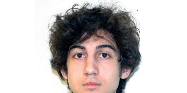 This file photo released April 19, 2013, by the Federal Bureau of Investigation shows Dzhokhar Tsarnaev, convicted and sentenced to death for carrying out the April 15, 2013, Boston Marathon bombing attack that killed three people and injured more than 260. (FBI via AP, File)
