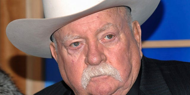 "Wilford Brimley attends the premiere of ""Did You Hear About The Morgans"" at the Ziegfeld Theater in New York City, Dec. 14, 2009. (Associated Press)"