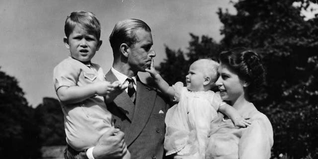 Elizabeth and Philip had four children: Charles, the Prince of Wales and heir to the throne, Anne, Andrew and Edward.