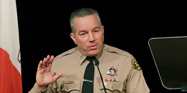 Los Angeles Sheriff Alex Villanueva (AP Photo/Jae C. Hong, File)