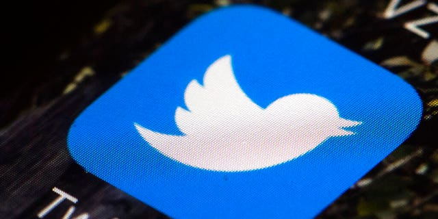 Twitter app icon on a mobile phone in Philadelphia. (AP Photo/Matt Rourke, File)