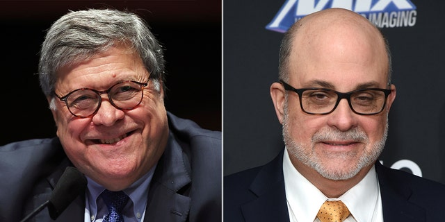 Attorney General William Barr will sit down with Fox News host Mark Levin on Sunday.
