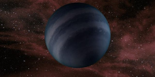 An artist's concept of a dark brown dwarf, which may resemble the black dwarfs predicted to form in the future. (Credit: NASA / JPL-Caltech )