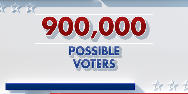 In this year's general election, Antonacci is planning for a 75% voter turnout of Broward's 1.2 million registered voters. That means up to 900,000 possible voters.