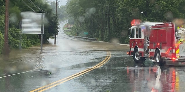 Major flooding was reported as Tropical Storm Isaias moved across the Northeast on Tuesday.