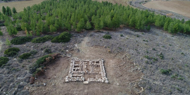 The fortress was discovered in Southern Israel.