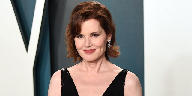 Geena Davis attends the 2020 Vanity Fair Oscar Party hosted by Radhika Jones at Wallis Annenberg Center for the Performing Arts on February 09, 2020 in Beverly Hills, California.