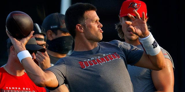 Tom Brady made the shocking move to join the Bucs in the offseason.
