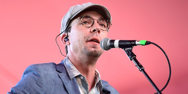 Singer-songwriter Justin Townes Earle performs on the Mustang Stage during day 1 of 2017 Stagecoach California's Country Music Festival.